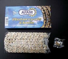 cadena AFAM 530 XHR, oro, Yamaha YZF-R1, RN12, FZS 1000, 116 Enlaces, chaine