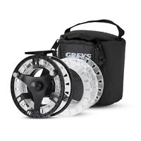 New Greys GTS 500 Fly Fishing Reel - 3 Spools & Case