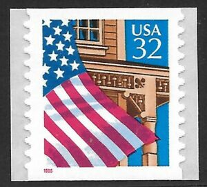 U.S. Scott #2915C  32c Flag Over Porch Coil Stamp MNH OG XF