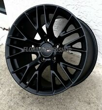 "17/18"" Satin Black C7-Z06 ZO6 Style Corvette wheels for 1997-2004 Corvette C5"