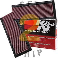 K&N Washable Drop-In Air Filters PAIR for Mercedes C/CLK/E/GL/ML/R/S/SL Class