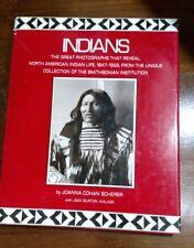 Indians - Great Photographs Reveal North American Indians by J Scherer J Walker
