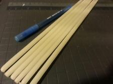"28 BEESWAX TAPER CANDLES 12"" long x 1/4"" hand dipped CREAMY color"