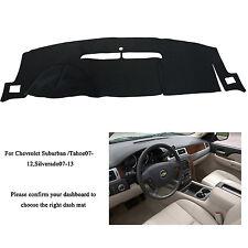 Dashmat Dashboard Cover For Chevrolet Suburban/Tahoe 07-12 Silverado LTZ 07-13