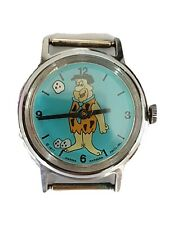 Vintage fred flintstone Swiss Watch Bowling Hand Hanna Barbera 1977