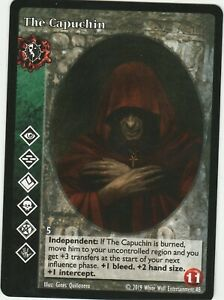 The Capuchin x1 Harbinger of Skulls Black Chantry Promo Pack 1 VTES Jyhad