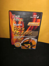 Learn Rock Acoustic Intermediate (DVD) with Booklet/Insert -The Rockhouse Method