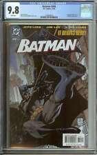 BATMAN #608 CGC 9.8 WHITE PAGES