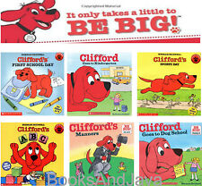 Clifford's School Story Box by Norman Bridwell (2015,Paperback) 6 Book Set NEW
