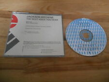 CD Pop Jackson Browne - The Next Voice You Hear (2 Song) Promo ELEKTRA jc