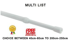 Speedy Heavy Duty Extendable Tension Rod For Light-Medium Weight Net Curtains,