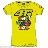 VR46 Valentino Rossi The Doctor Moto GP T Shirt Casual LADIES Top VRWTS205501