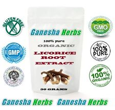 100% Pure Organic Chinese LICORICE ROOT High Potency 20:1 Extract 50 grams