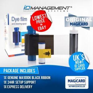 Magicard EN3 Black Printer Ribbon for Enduro/Rio Pro/Pronto • 1000 Prints
