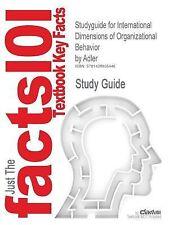 Studyguide for International Dimensions of Organizational Behavior by Adler, ISB