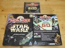 Star Wars Monopolio CD-ROM Edition-PC-Caja Grande