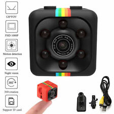 Full HD 1080P Mini Car DV DVR Spy Hidden Camera IR Night Vision SQ11 Black