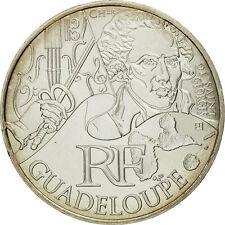 [#461537] France, 10 Euro, Guadeloupe, 2012, Silver, KM:1873