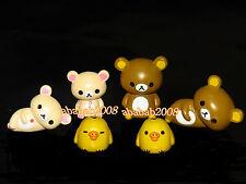Koro Koro San-X Rilakkuma Bear figure gashapon (full set of six figures)