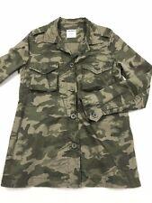 334079ef0fef5 GAP Camouflage Jacket Cotton Light Weight Women's Size XS