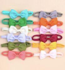 12 Pieces Baby Girl Bow Headbands