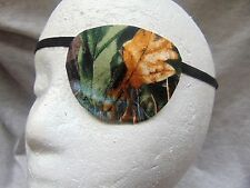 Unisex handmade eye patch/Camouflage motif/viison aid/cataract aid/2 Styles