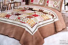 bett berw rfe und tagesdecken aus baumwollsatin g nstig kaufen ebay. Black Bedroom Furniture Sets. Home Design Ideas