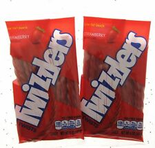 Twizzlers Strawberry Twists Candy Licorice Lot of 2 Free Shipping