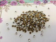 Rhinestones Crystal Preciosa 3mm 12ss Czech Round Repair Pack 60 Craft Foiled