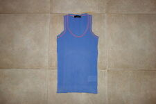 Dsquared² SAIL Cotton Perforated Canotta Singlet T-shirt M 71NC017 SS/07