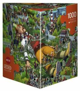 Heye Puzzles - Triangular, 1000 Piece Jigsaw Puzzle Gulliver, Oesterle HY29886