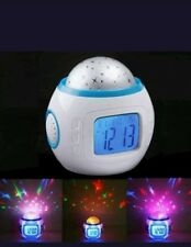 NEW Babies Bedroom Cot Nightlight-Show Sound Star Projector Musical Lullaby /UK