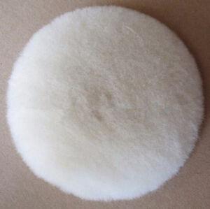 1Pcs 7 Inch 180MM Wool Buffing Pad Car Dremel Detailing Polishing Backing Buffer