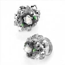 Unbranded Glass Alloy Costume Rings