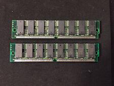 2x 8MB 72-pin 60ns EDO Non-Parity 16-Chip RAM SIMM Memory 16MB Apple Mac PC