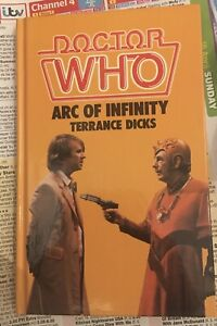 DR WHO ARC OF INFINITY WH ALLEN HARDBACK BOOK