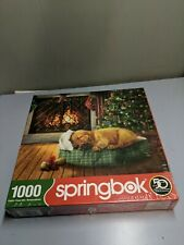 Christmas Wishes Springbok  1000 Piece Jigsaw Puzzle made in USA New in Box