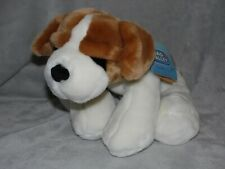 More details for cream beagle puppy soft toy dog comforter doudou chad valley cuddle club