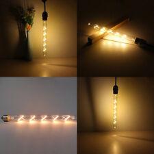 5W LED Filament Retro Edison Bulb Clear Glass Industrial Light Lamp Tube E27 ES