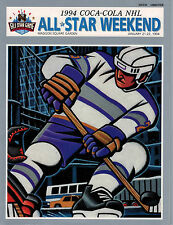 1994 NHL All Star Weekend Magazine January 21-22 1994- New York City