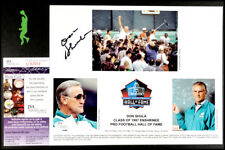 DON SHULA AUTOGRAPHED SIGNED 8X10 PHOTO PICTURE NFL FOOTBALL DOLPHINS JSA COA