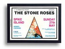 Stone Roses Spike Island Ticket Poster Art Print