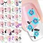 SHEET Nail Art Sticker Water Transfer Stickers Flower Decals Manicure Tips Decor
