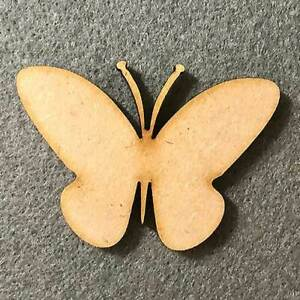 Butterfly Butterflies Craft Shapes MDF Craft Shape Wooden Insect Embellishment