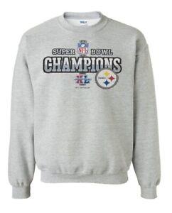 Pittsburgh Steelers Youth Super Bowl XL Crewneck  Sweatshirt