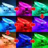 Battery Powered Skateboard LED Strip Light Kit RGB Waterproof Craft Hobby