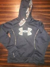 Under Armour Women's Camo Big Logo Hoodie NWT Hunting Stitched Mossy Oak