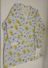 Women's size XS RS Med tweety bird  print scrubs jacket.