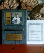 Limited Edition Miniture Bat Made From A Game Used Bat Of Ken Griffey Jr. 1996