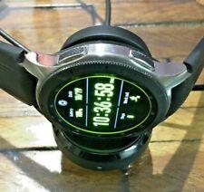 Samsung Galaxy Watch Smartwatch 46mm AT&T LTE Wireless in Silver SM-R805U